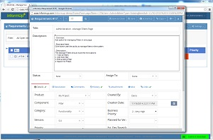 Requirement Management - Manage your requirements in easy way