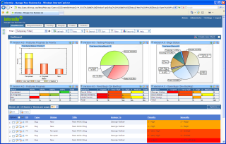 Dashboard which enable a QA Manager, Product Manager, R&D Manager and all other roles to create their personlized dashboard.